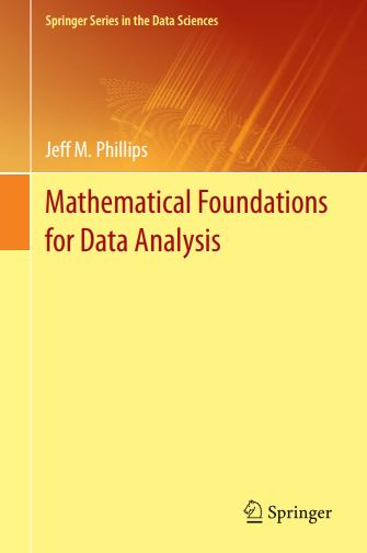 Mathematical Foundations for Data Analysis