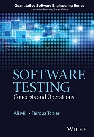 Software Testing: Concepts and Operations
